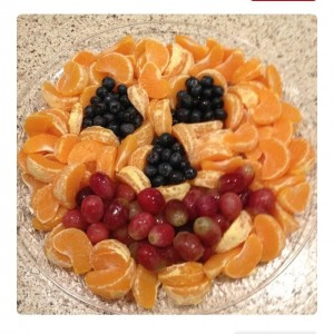 Pumpkin Fruit Tray